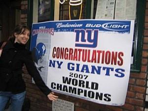 Victoire des Giants !