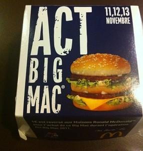 3 jours pour manger un Big Mac !