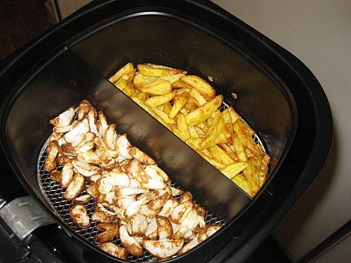 Test airfryer de philips les frites la friteuse sans huile marinette saperlipopette blog - Cuiseur frites sans huile ...