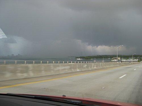 Floride miami orage3