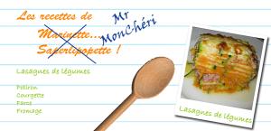 Lasagnes aux légumes