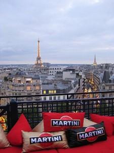 Terrazza Martini pour un verre avec vue imprenable sur Paris