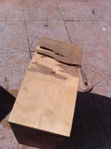 Supprimer placage meuble