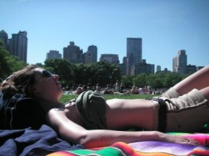 Un dimanche au soleil de Central Park