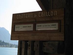 Un après-midi au chateau de Chillon