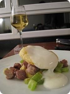 Feuilleté thon / céleri pour un dîner parfait !