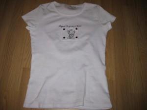 Mon nouveau T-shirt ...