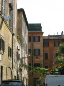 Rome et le quartier de Trastevere