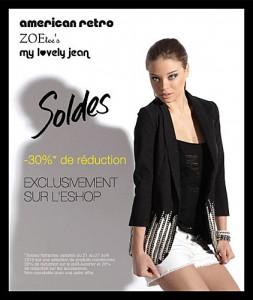 Bon plan du jour - Soldes American Retro / Zoe Tee's / My Lovely Jean