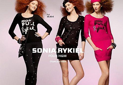Sonia rykiel h&m