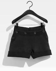 Sonia rykiel h&m short noir