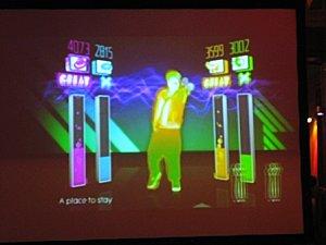 Just Dance sur wii - test et interview développeur / chorégraphes !