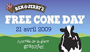 Le free cone day de Ben & Jerry's