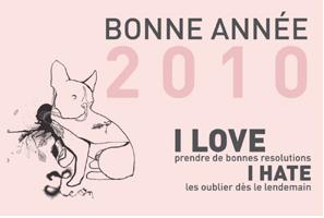 Bonnes résolutions 2010