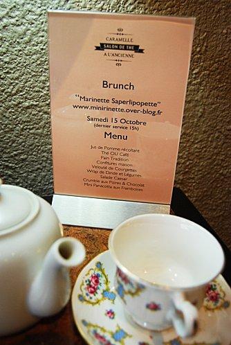 brunch marinette caramelle menu