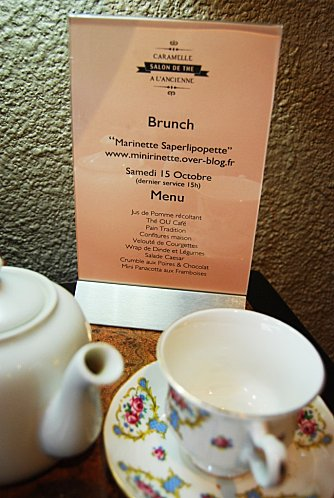 brunch marinette caramelle menu
