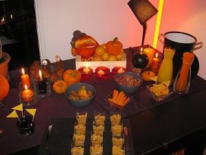 Mon premier vrai buffet : le DIY pour Halloween