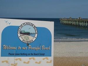 Souvenirs de Floride : Flagler Beach