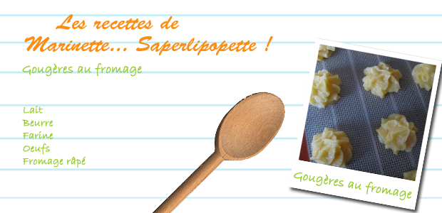 gougeres fromage