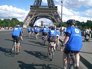 London to Paris : Etape 5 = le sac