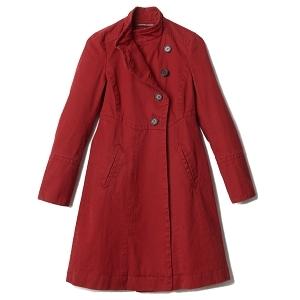 manteau comtpoir rouge