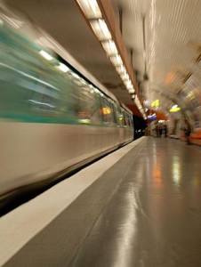 Question du jour et quai de métro