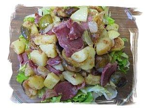 Ma salade de gésiers améliorée !