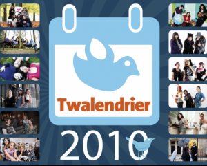 Si tu veux ma tête sur ton calendrier, c'est le Twalendrier !