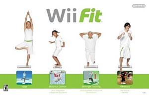 Marine découvre la Wii Fit !