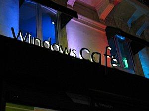 Une soirée au Windows café