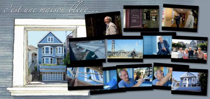 Un probleme de porte et des rayures plus tard marinette saperlipopette bl - Chanson c est une maison bleue ...