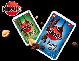 Encore plus miam ! Mikado King Choco [Concours Inside]