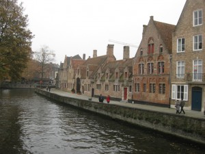 Le temps d'un we a Bruges !
