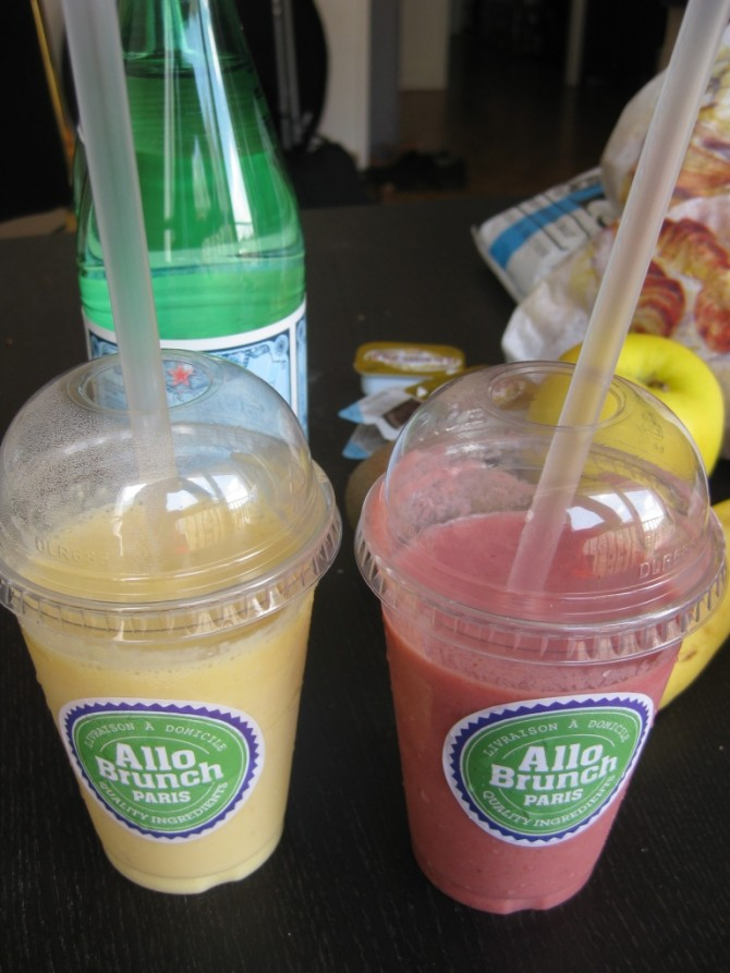 Smoothies Allo Brunch