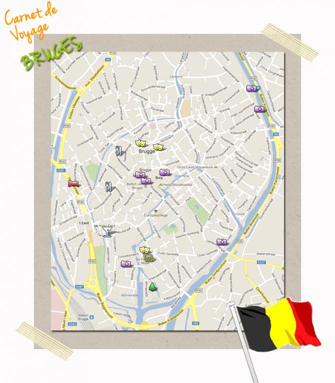 Carte Bruges