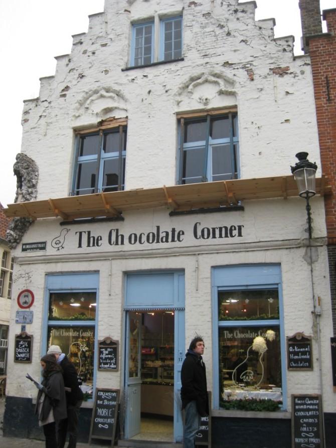 The Chocolat Corner Bruges