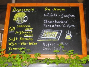 A Bruges, on y mange aussi !