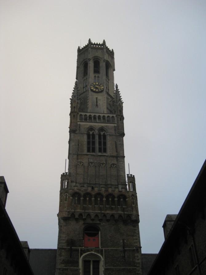 Beffroi de Bruges sur la Grand Place