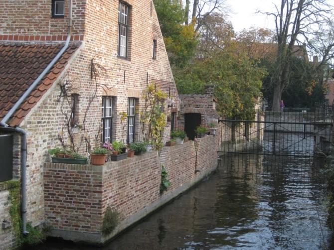 Bruges Béguinage et Lac D'Amour