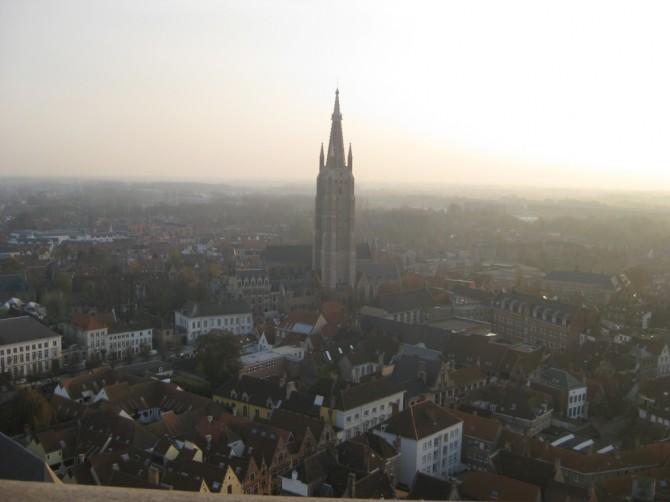 Vue du Beffroi de Bruges