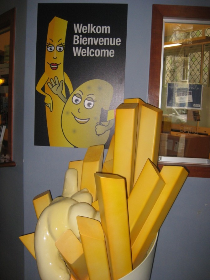 Bruges musée de la frite