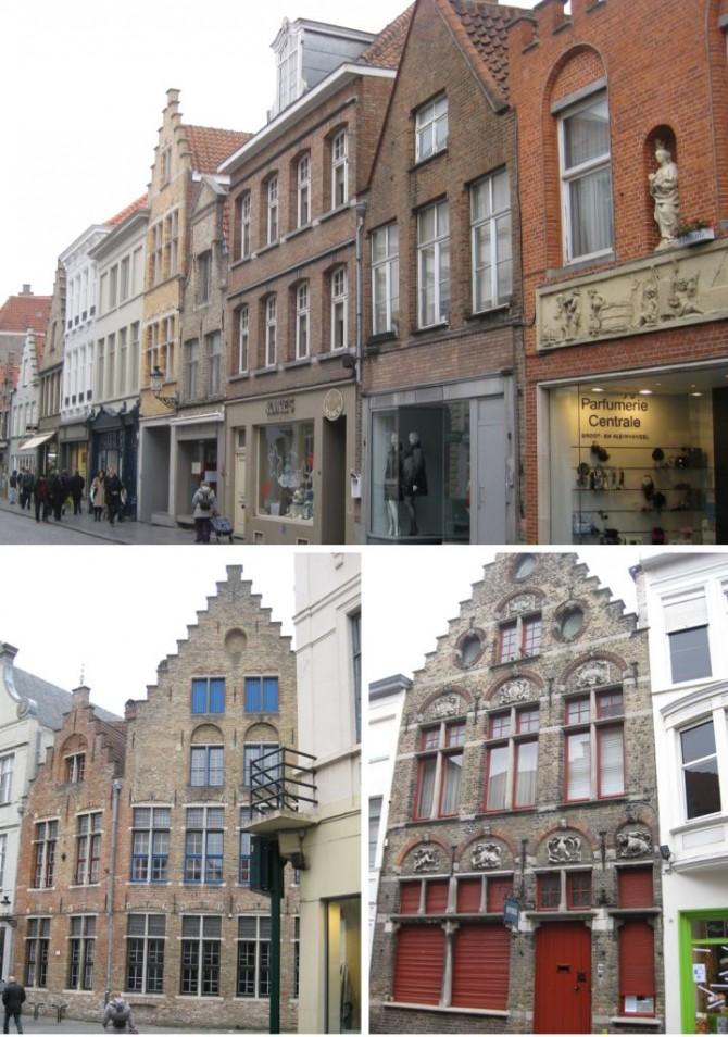 Façades de Bruges