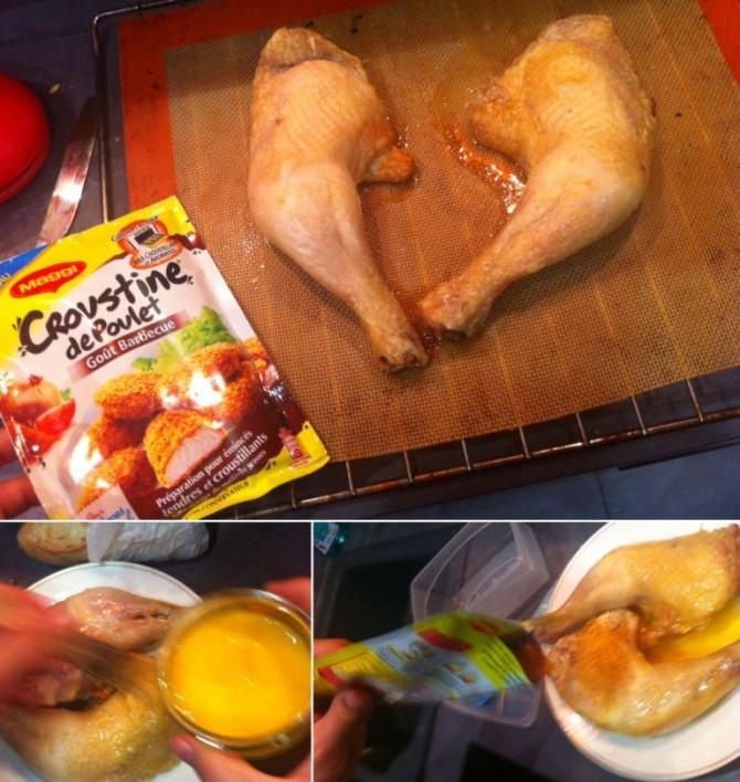 Croustine de poulet Maggi