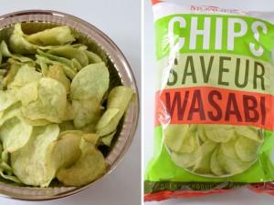 Des chips ? Oui, mais au wasabi !