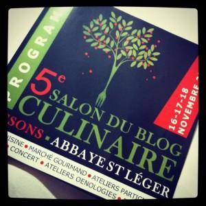 Salon du Blog Culinaire : la chouette experience culinaire et humaine