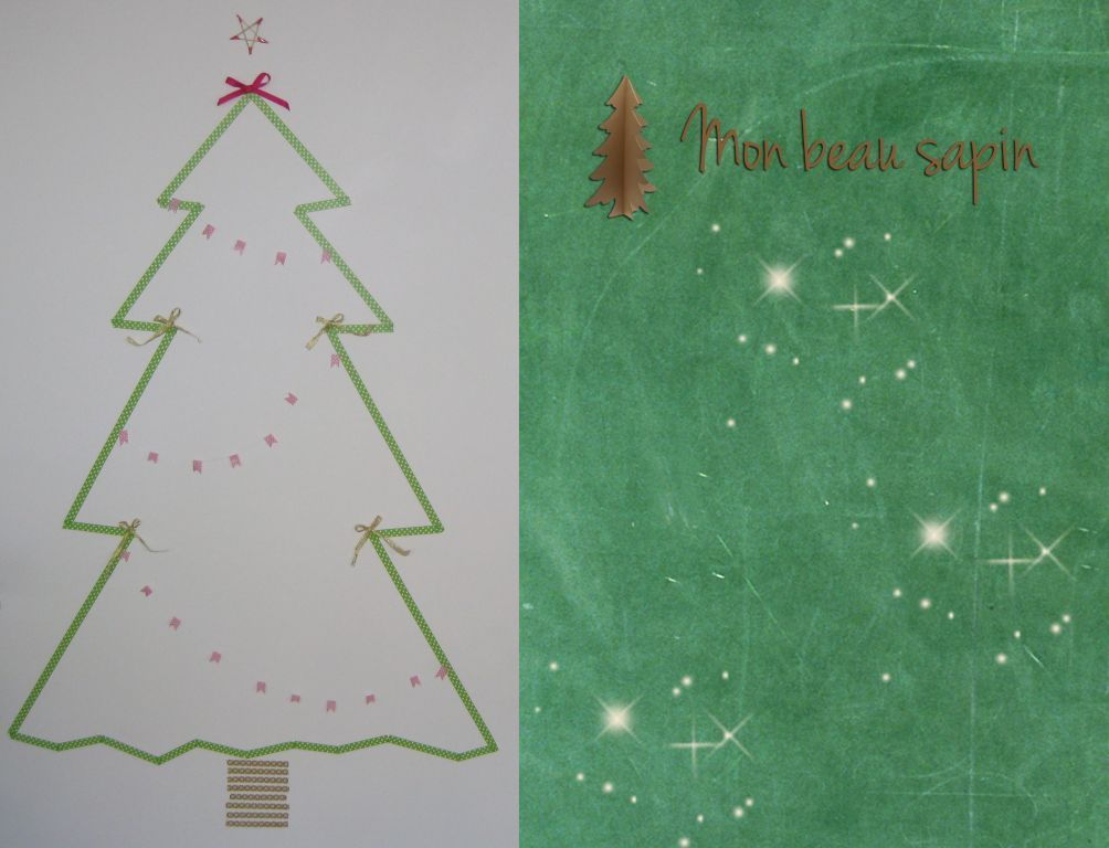 Mon beau sapin ! [DIY en masking tape]