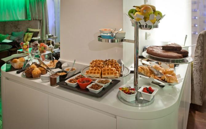 Seven Hotel petit dejeuner
