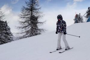 Ce jour où j'ai decouvert aimer le ski !