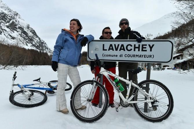Snowbike Val Ferret