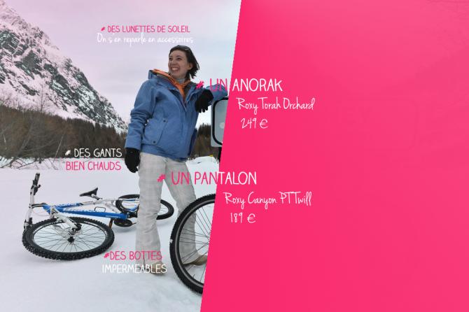 Tenue ski roxy